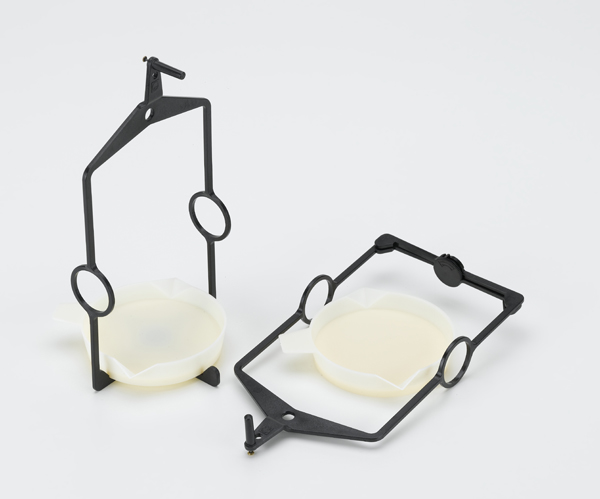 Balance pans with stirrup, set of 2