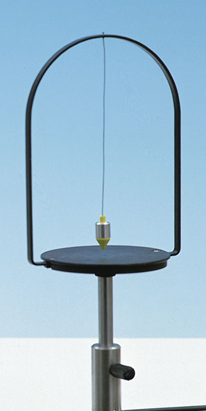 Small rotatable pendulum