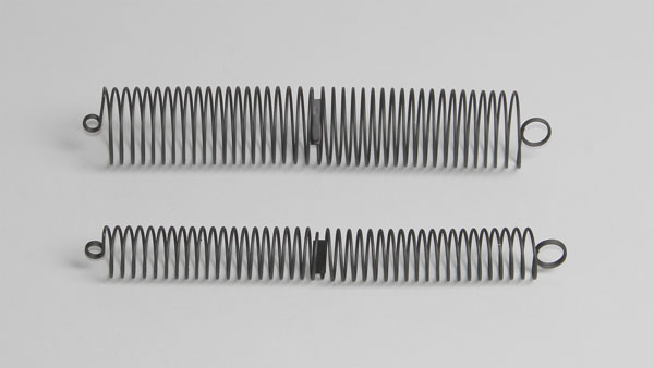 Helical springs, pair