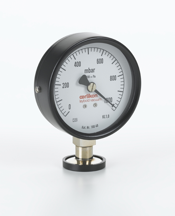Pointer manometer, DN 16 KF