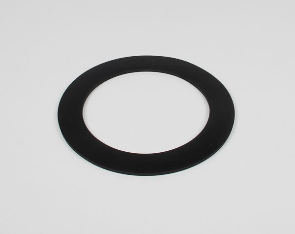 Rubber ring for vacuum bell jar