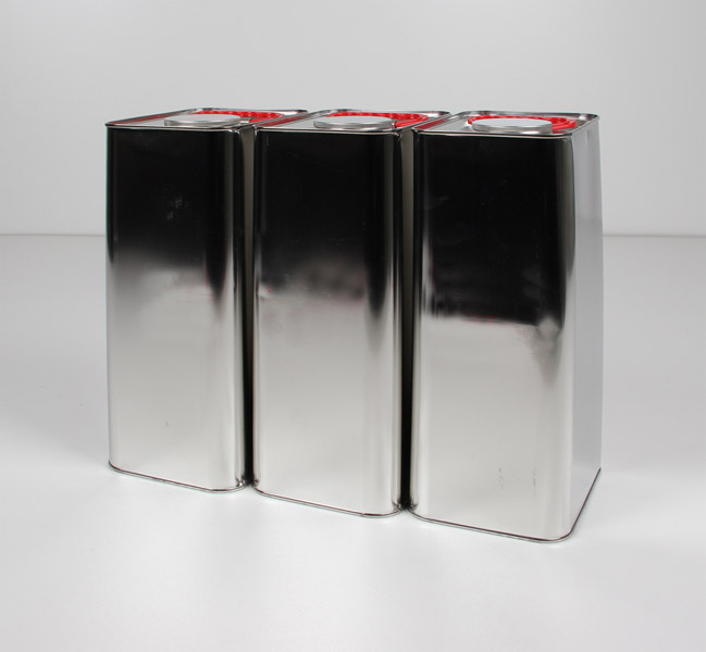 Metal canisters, set of 3