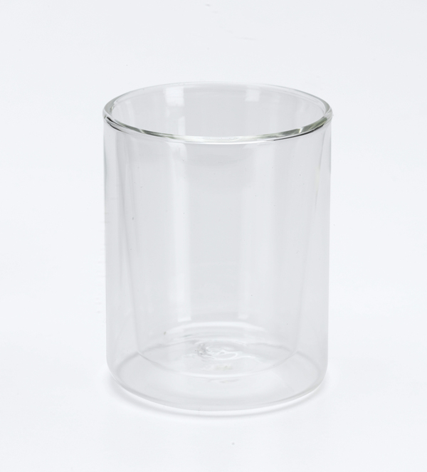 Dewar flask, clear, for demonstration
