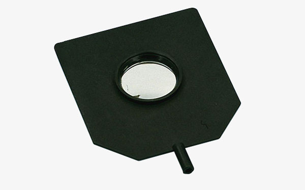 Convex-concave mirror, mounted