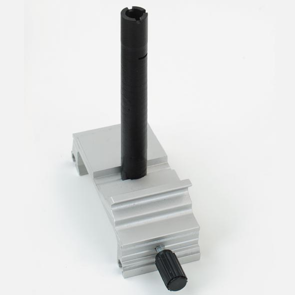 Clamp rider with fixing column