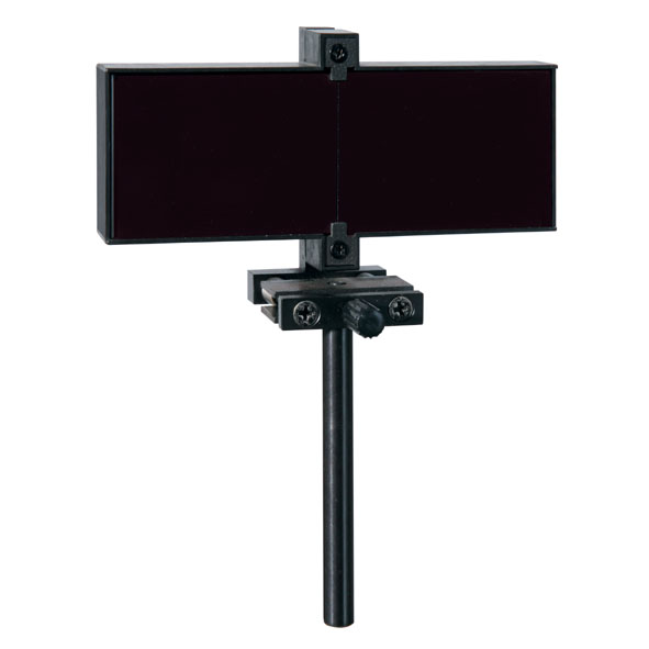 Fresnel's mirror, adjustable