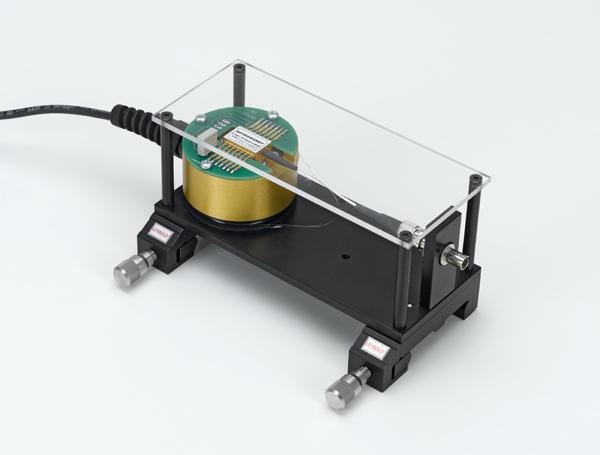 Diode laser module, ST fibre connector