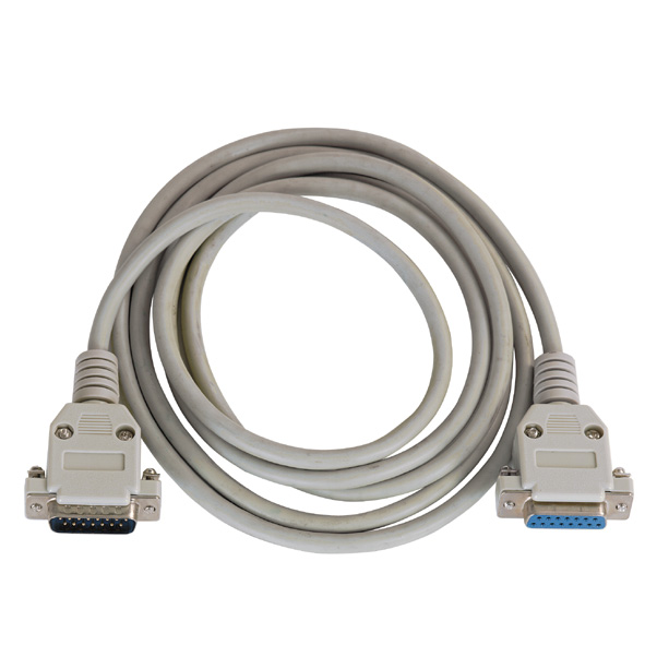 Extension cable, 15 pin