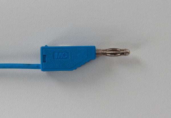 Experimentierkabel 32 A, 200 cm, blau