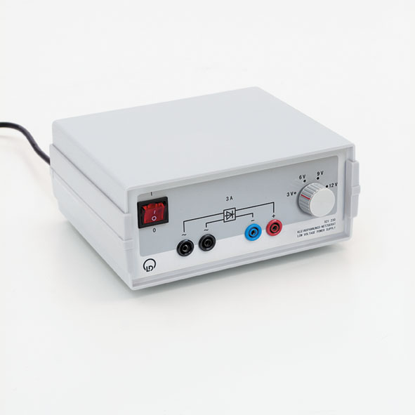 Low-voltage power supply, 3/6/9/12 V