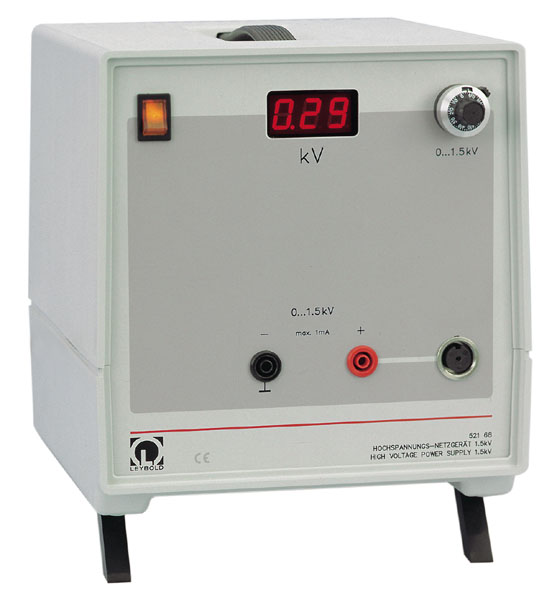 High-voltage power supply, 1.5 kV