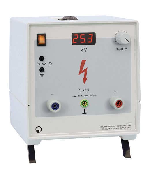 High-voltage power supply, 25 kV