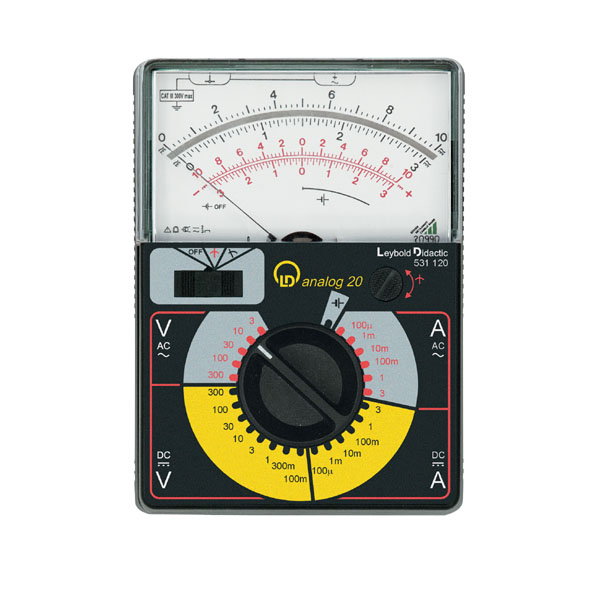 Measuring Electrical Equipments : Multimeter ldanalog physics