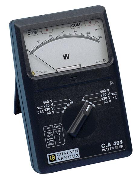 Wattmeter 1-phasig, C.A 404