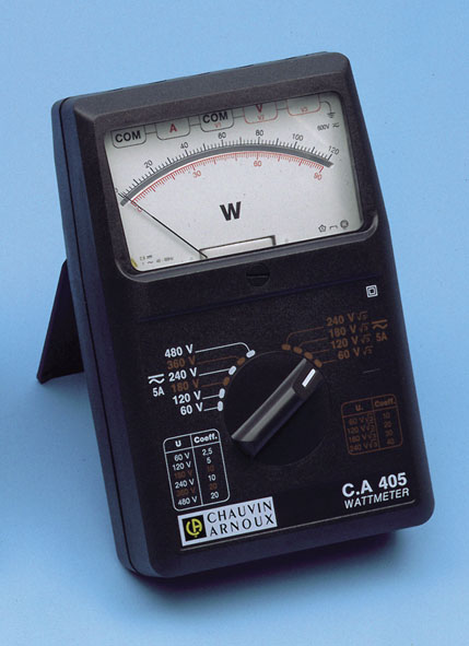 Measuring Electrical Equipments : Joule and wattmeters electrical measuring instruments