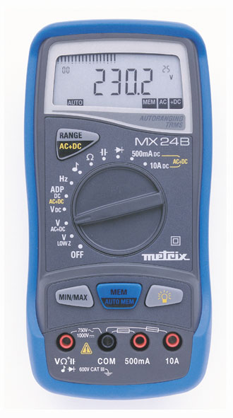 Digital-Multimeter MX 24B