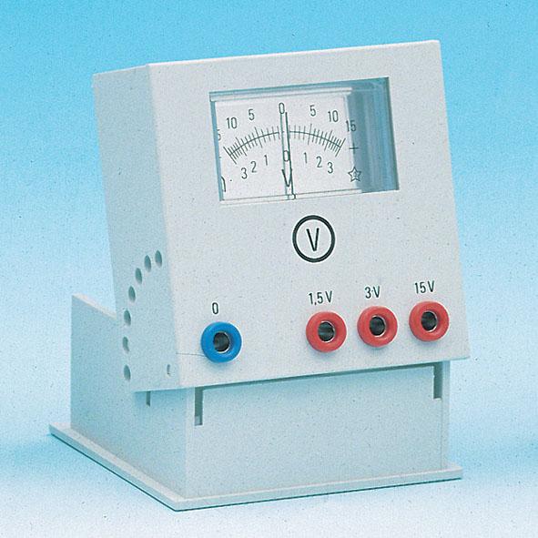 Voltmeter 1,5/3/15 V