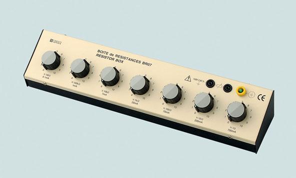 Resistor decade box, 1 Ω...11 MΩ