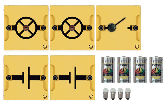 BST D equipment set: Simple electric circuits