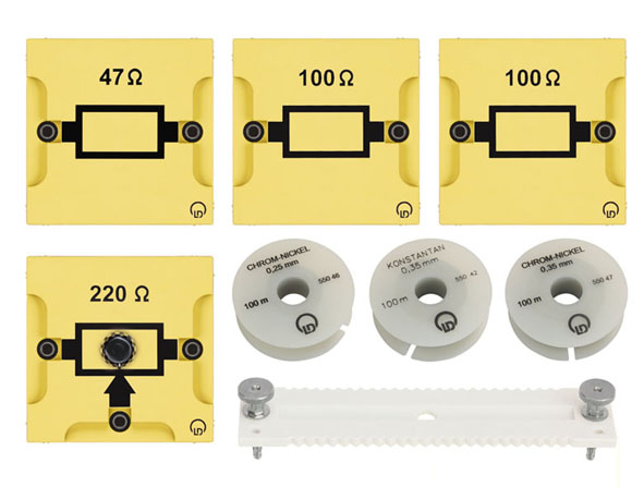 BST D equipment set: Electrical resistance