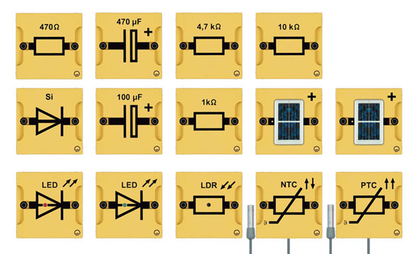 BST D equipment set: Basics of electronics