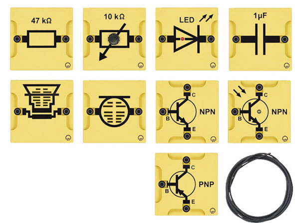 BST S Gerätesatz: Transistorelektronik