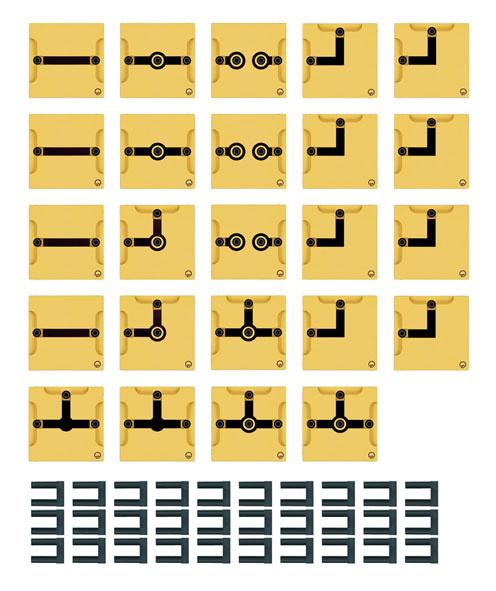 BST S Gerätesatz: Leitungsbausteine
