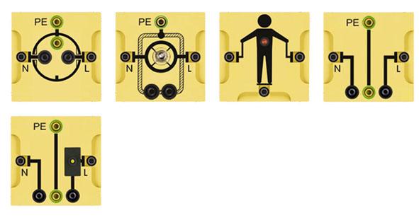BST S Gerätesatz: Elektrische Sicherheit