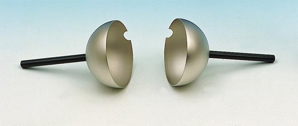 Cavendish hemispheres, pair