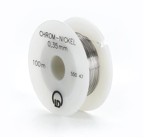 Chromnickeldraht (Widerstandsdraht), 0,35 mm Ø, 100 m