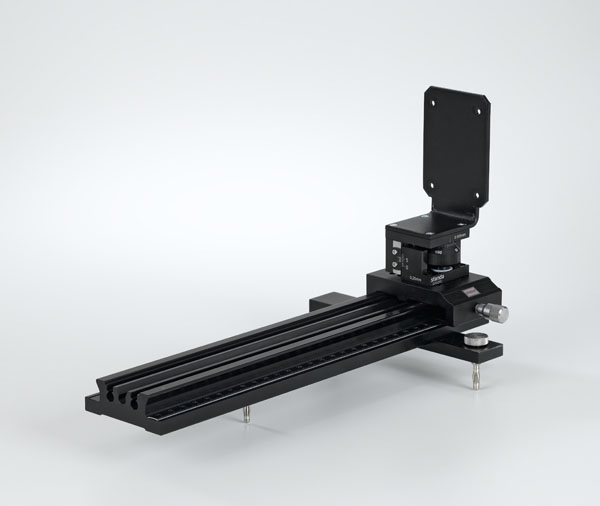 Precision rails for X-ray image sensor