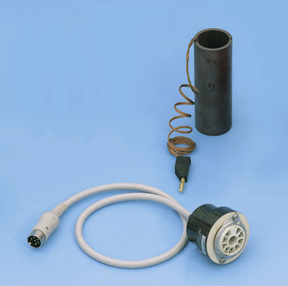 Socket for Hg Franck-Hertz tube, with DIN connector