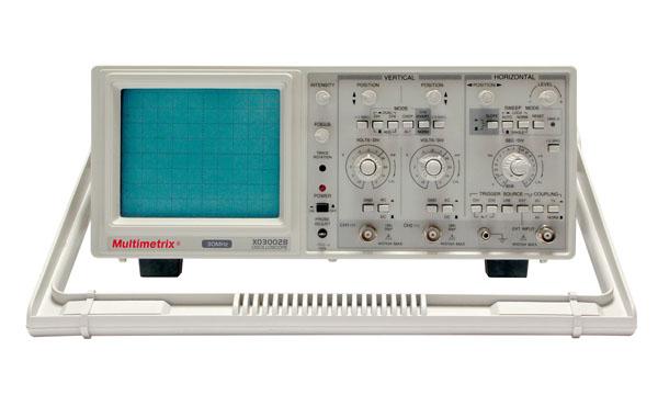 Oszilloskop 30MHz, analog, zweikanalig