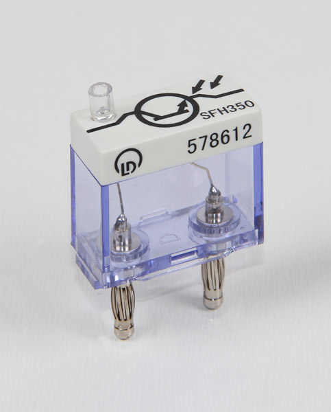 Phototransistor for optical fibres, no base, STE 2/19