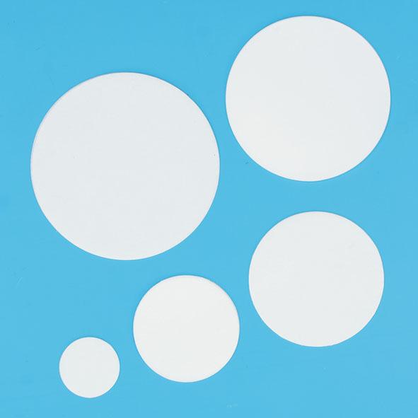 Rundfilter Glasfaser, 55 mm Ø, Satz 100
