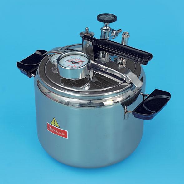 High-pressure mini-sterilizer