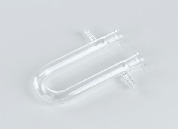U-Rohr, 160 x 22 mm, 2 seitliche Ansätze
