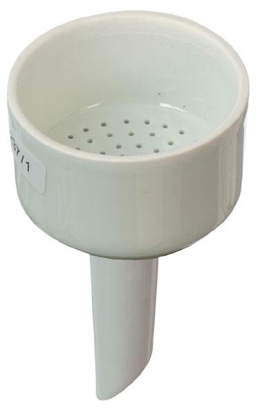 Büchnertrichter Porzellan, für Filter mit 55 mm Ø
