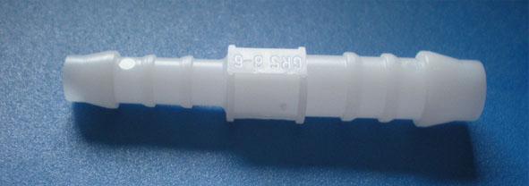 Schlauchverbinder PP, gerade, 6/8 mm Ø