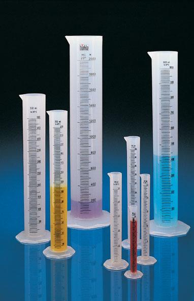 Measuring cylinder, PP, 250 ml