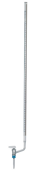 Burette, clear glass, 25 ml
