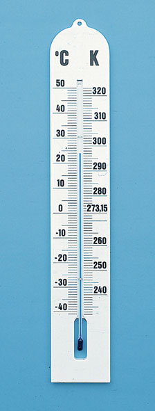 Wall thermometer, -35...+50 °C/1 K