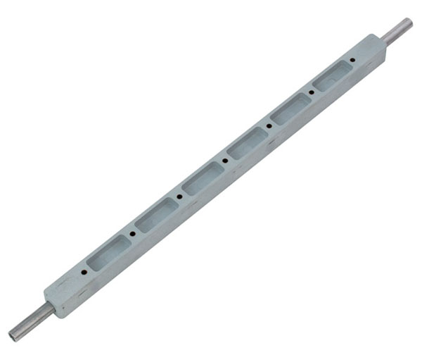 Stand rod with mounting holes