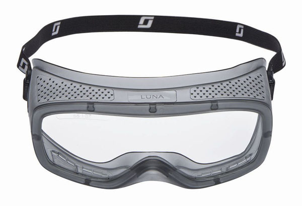 Safety goggles for wearing over glasses
