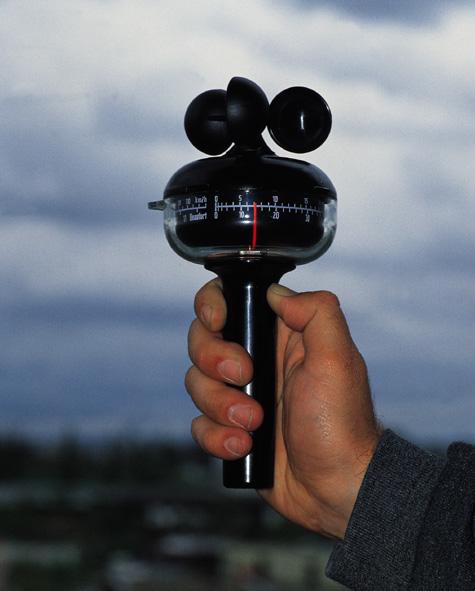 Windgeschwindigkeits-Messgerät