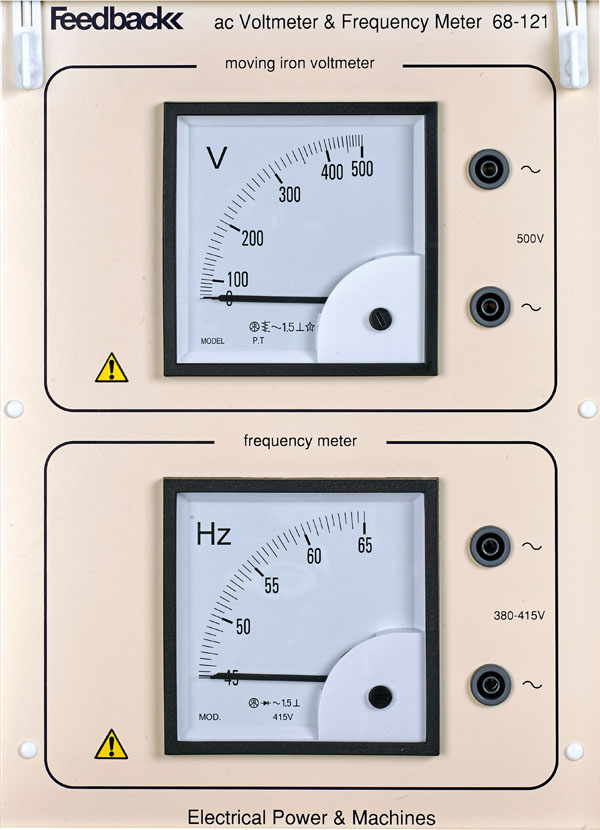 High Frequency Voltmeter : A c voltmeter frequency meter