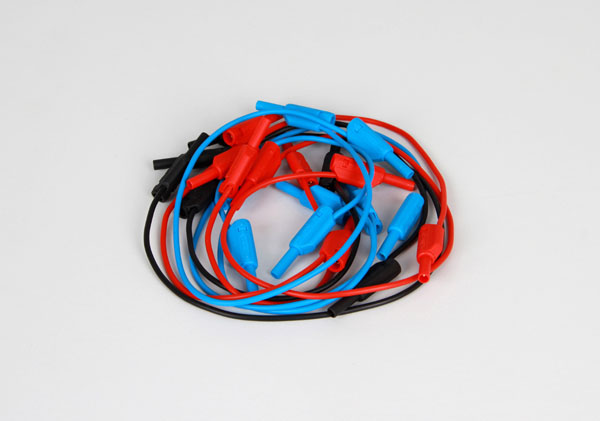 Set of Safety Cables (2mm, 16 Qty., 6 x 30cm & 10 x 15cm)
