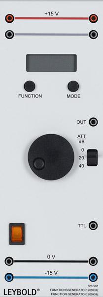 Funktionsgenerator 200 kHz, 230 V