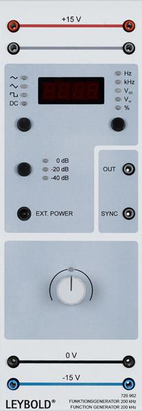 Funktionsgenerator 200 kHz