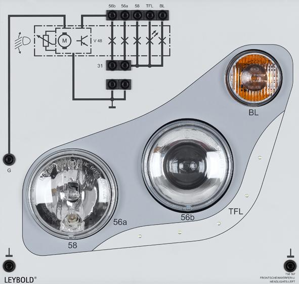 hauptscheinwerfer links abbiegelicht nachr sten von. Black Bedroom Furniture Sets. Home Design Ideas